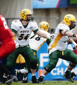 Jeremy Kelly's first start for the Bison came against Iowa State last season. His domination from the Division II level continued in the FCS.