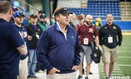jon gruden NDSU Coaches Clinic