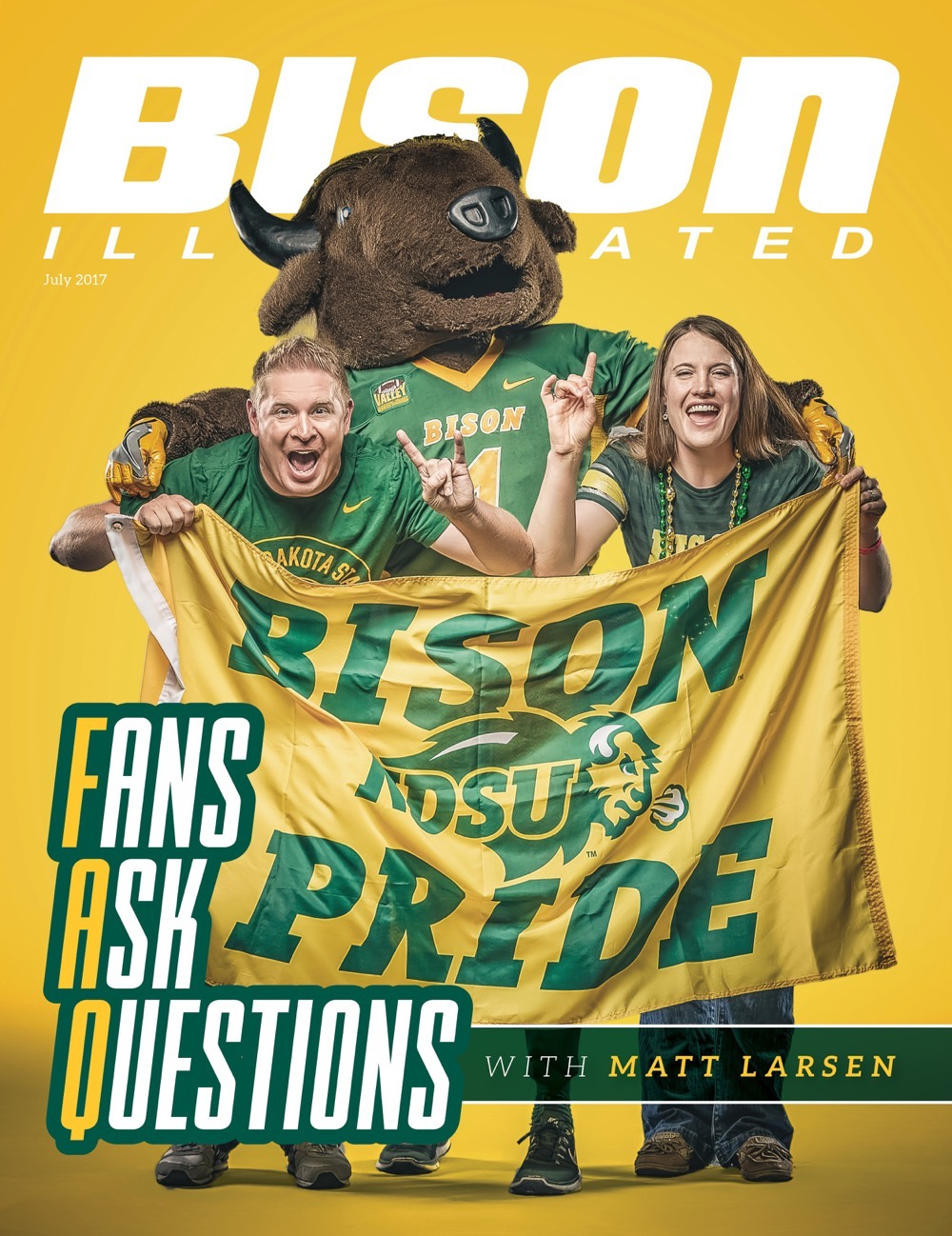 Bison Illustrated July 2017