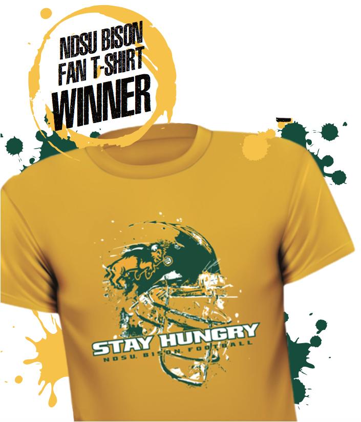 NDSU Fan T-Shirt Winner