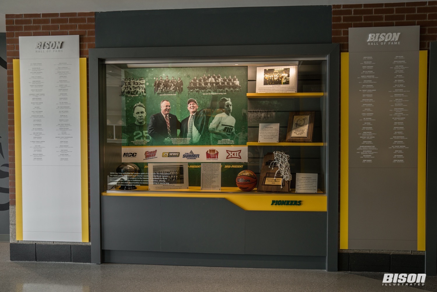 NDSU Bison Hall of Fame Sanford Health Athletic Complex