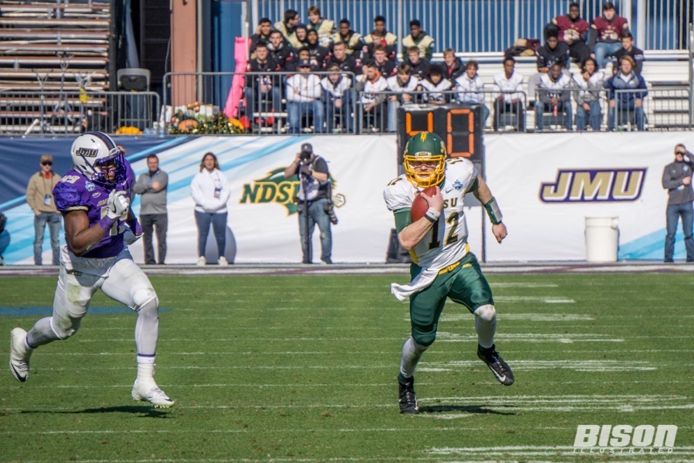 North Dakota State quarterback Easton Stick