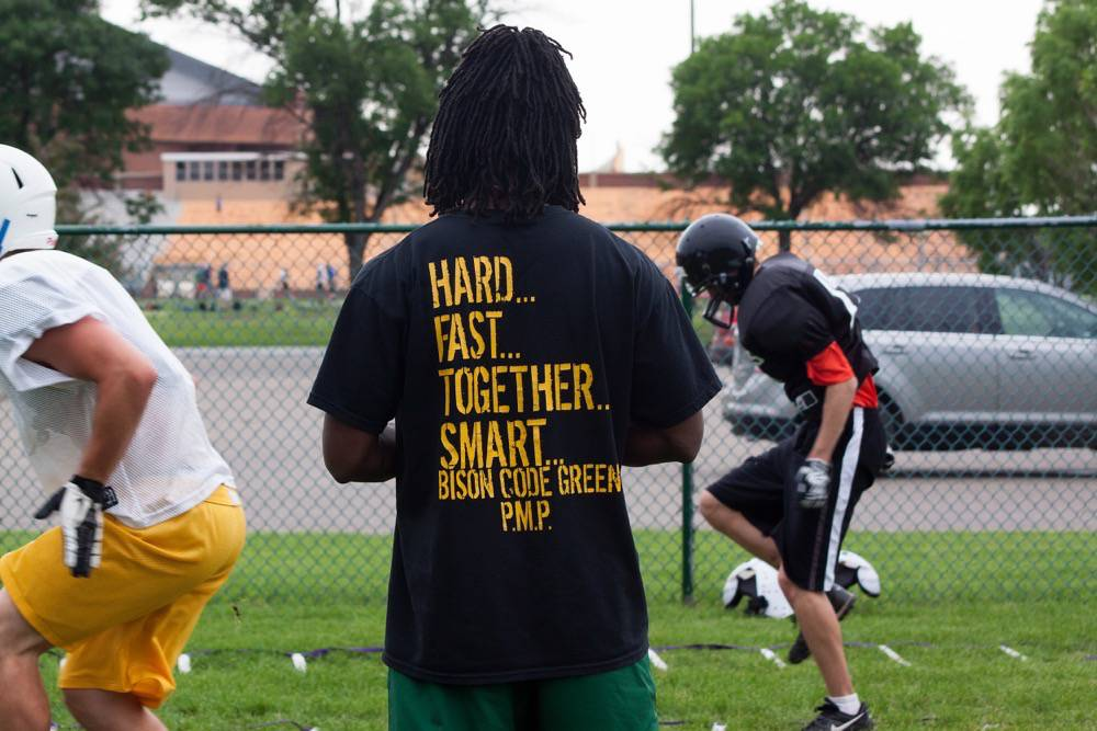 Hard Fast Together Smart Bison Summer camps shirt