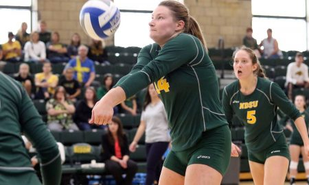 Are you a Bison volleyball scholar?