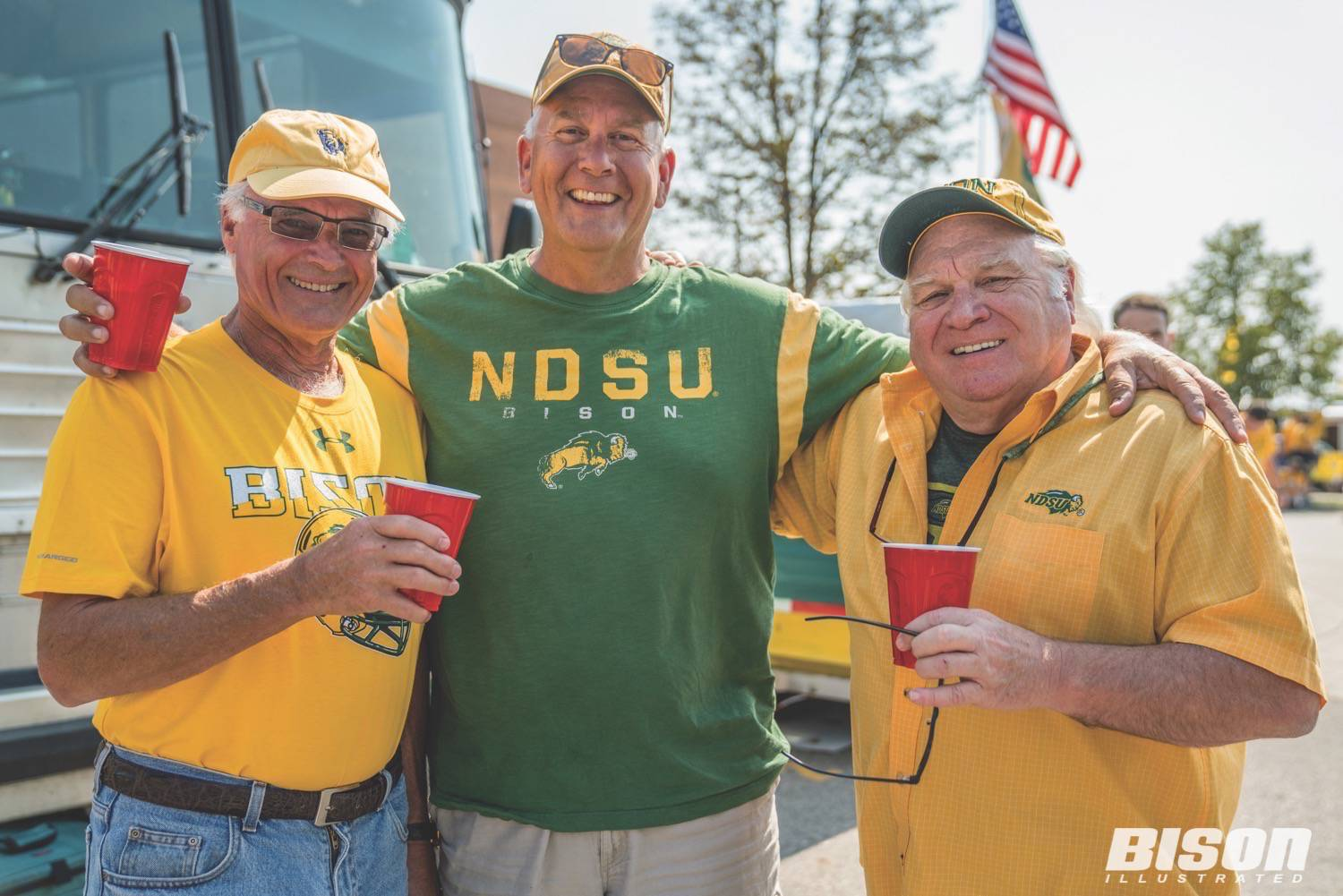 Team Makers: Save The Earth   At Tailgating! - Bison Illustrated